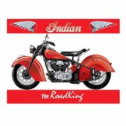 Kyltti Indian RoadKing