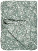 Torkkupeite dusty green paisley, IB Laursen