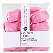 Suklaatryffeli Strawberry & Marc De Champagne 150 g The Spice Tree